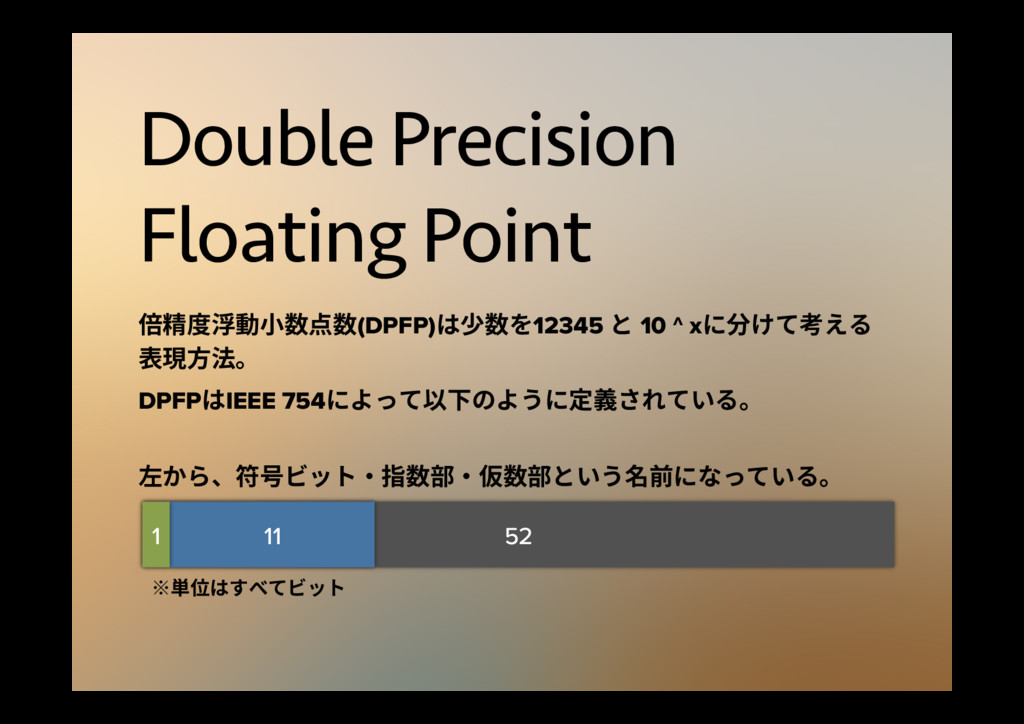 Double Precision Floating Point ⦓礵䏝嵤⹛㼭侧挿侧(DPFP...