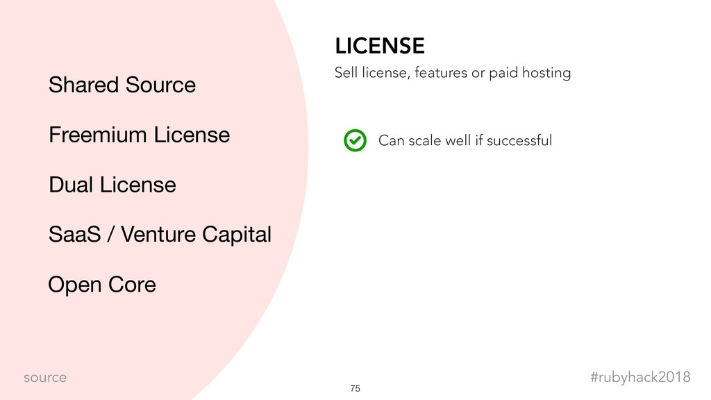 !75 #rubyhack2018 source LICENSE Can scale well...