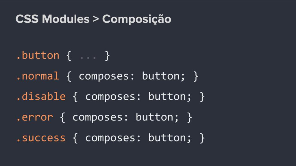 .button { ... } .normal { composes: button; } ....
