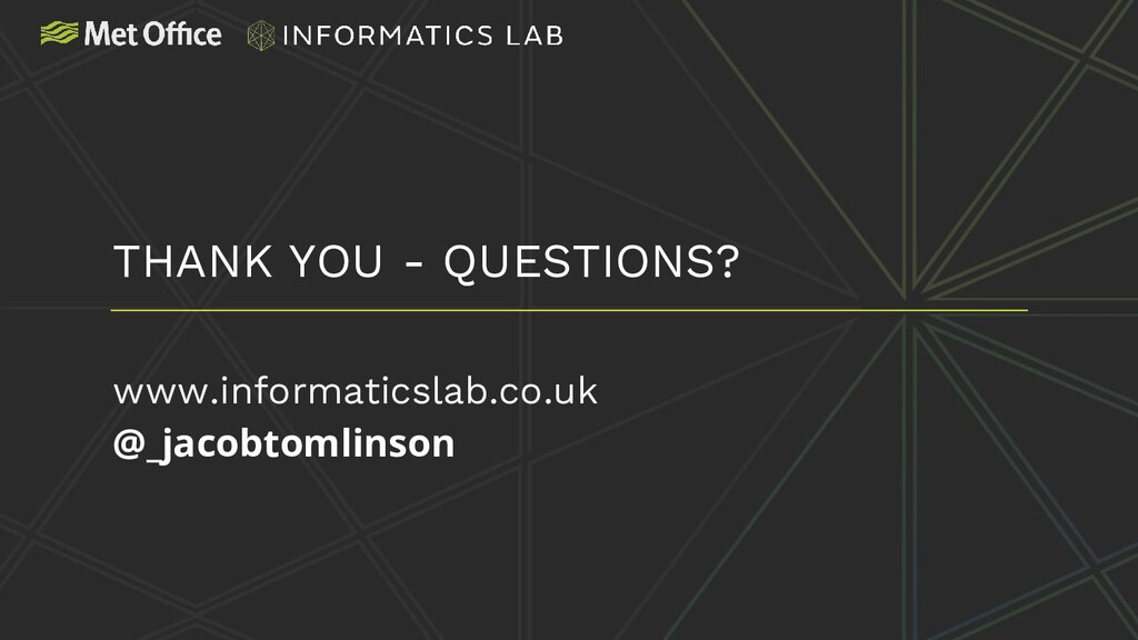www.informaticslab.co.uk @_jacobtomlinson THANK...
