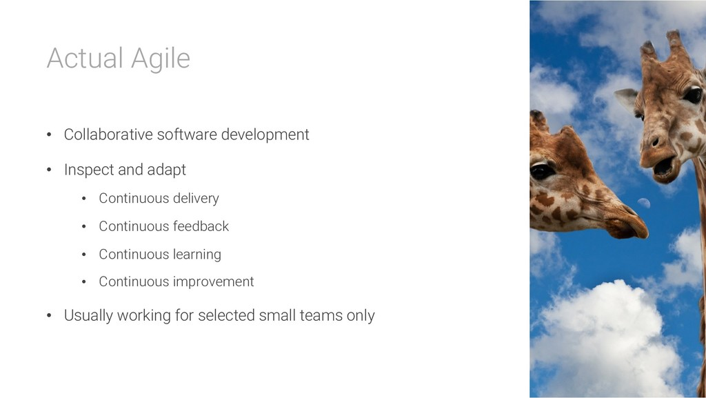 Actual Agile • Collaborative software developme...