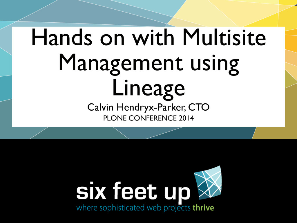 Calvin Hendryx-Parker, CTO Hands on with Multis...