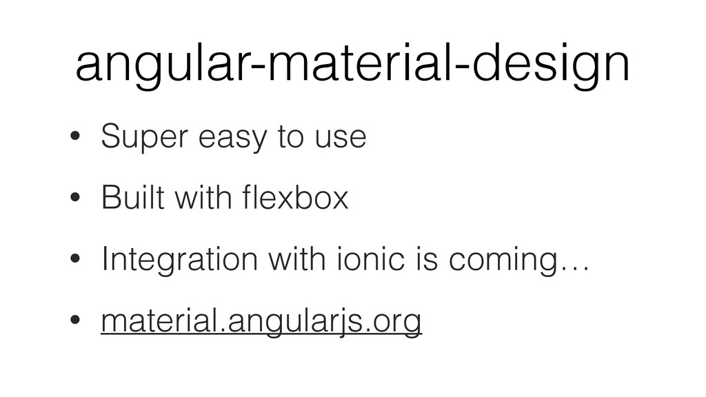 angular-material-design • Super easy to use • B...