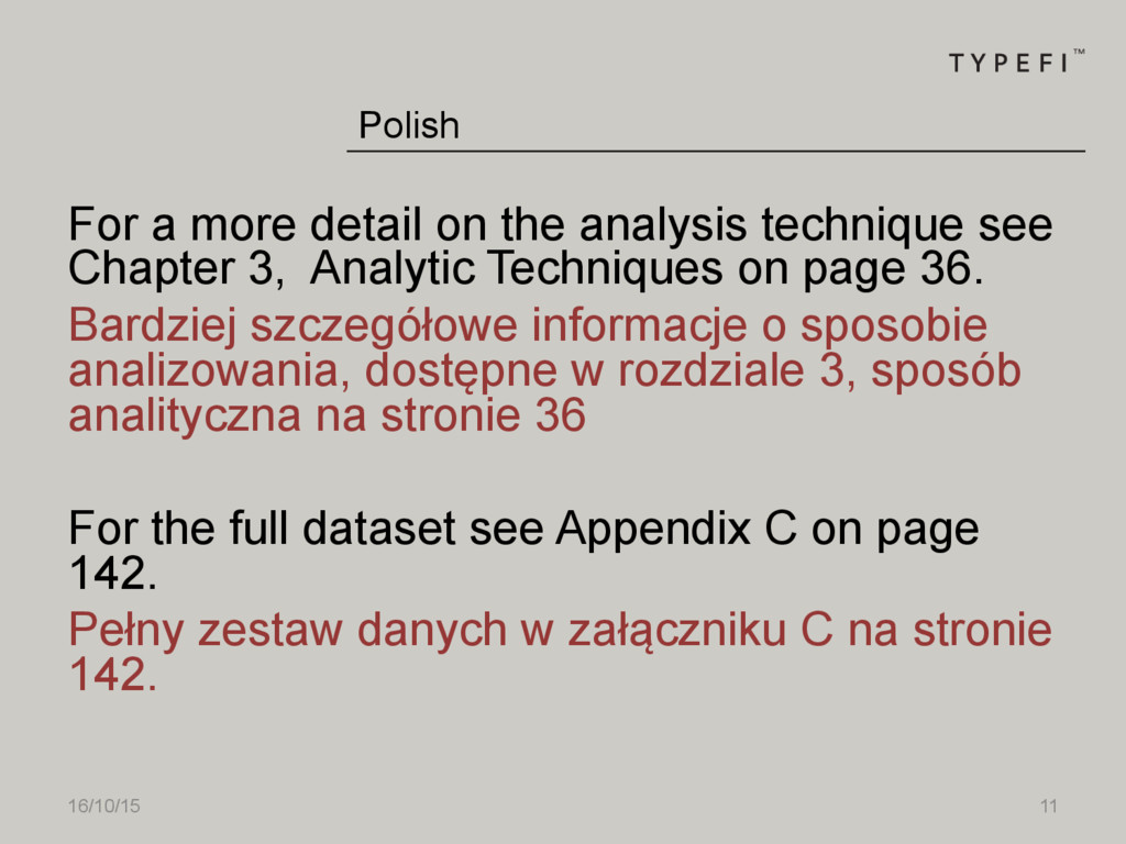 16/10/15 11 For a more detail on the analysis t...
