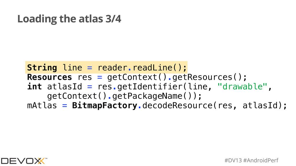 #DV13 #AndroidPerf Loading the atlas 3/4 String...