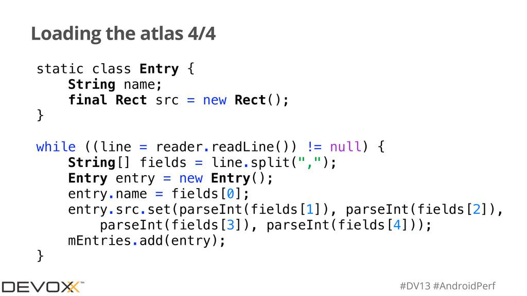 #DV13 #AndroidPerf Loading the atlas 4/4 static...