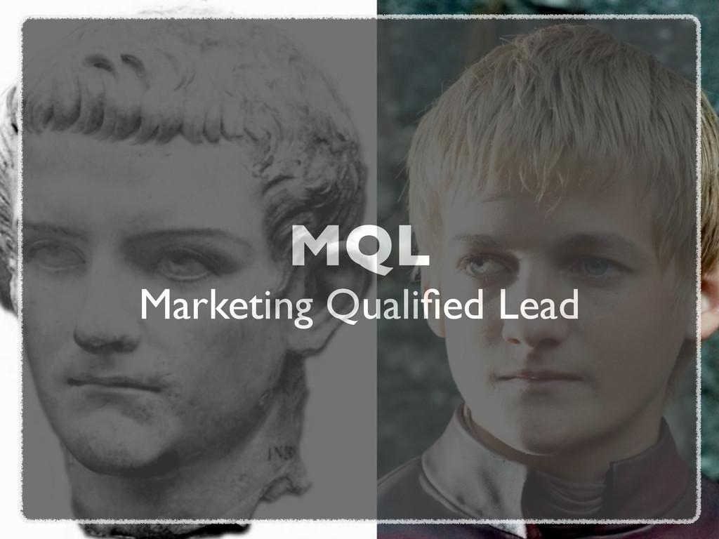 MQL Marketing Qualified Lead