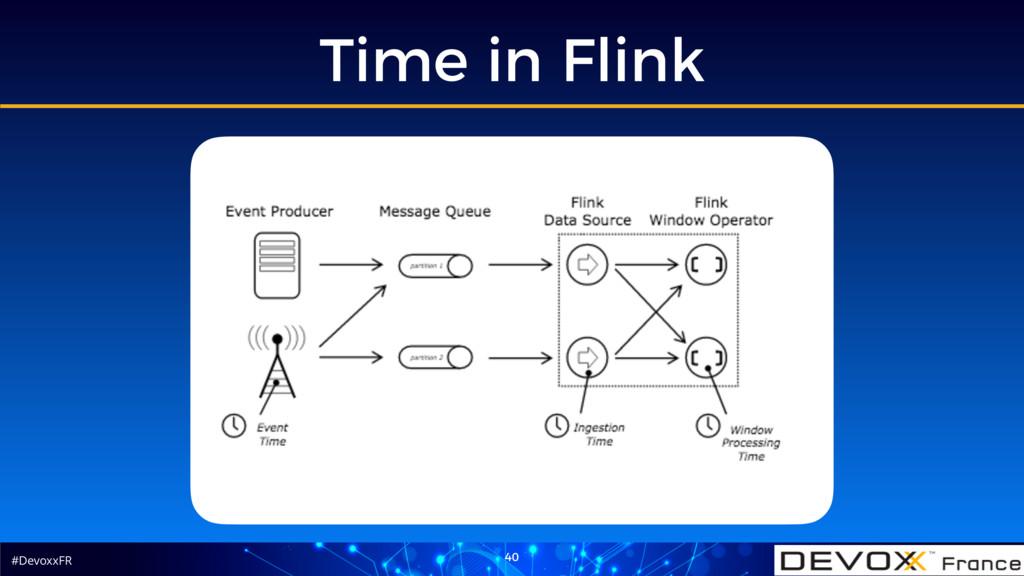 #DevoxxFR Time in Flink 40