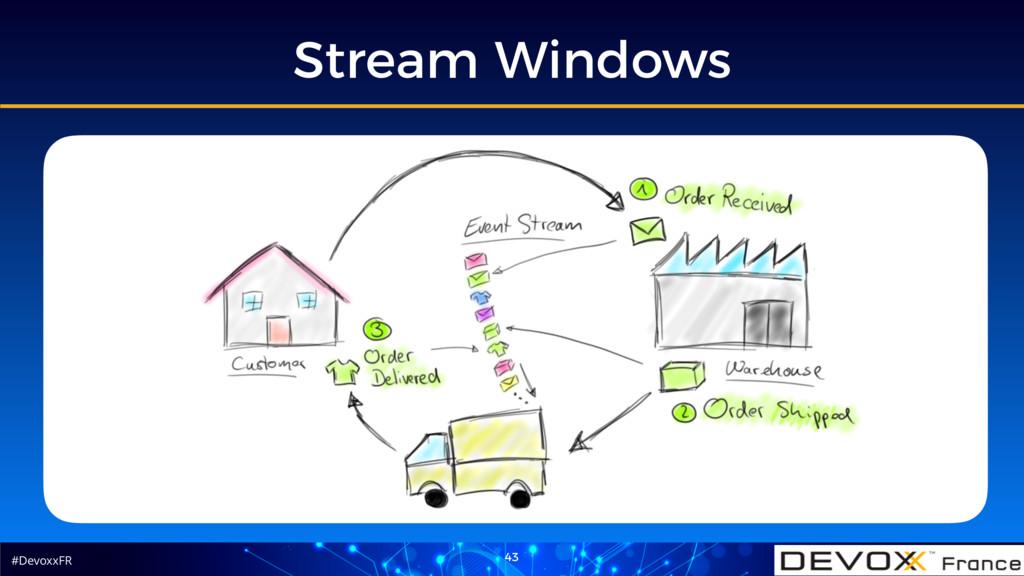 #DevoxxFR Stream Windows 43
