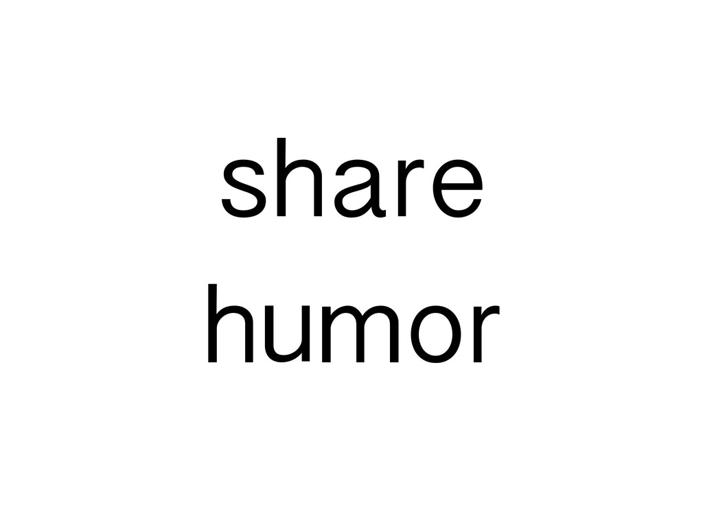 share humor