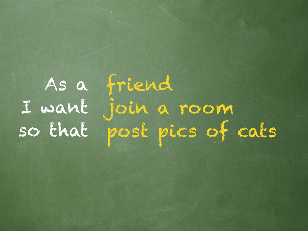 As a I want so that friend join a room post pic...