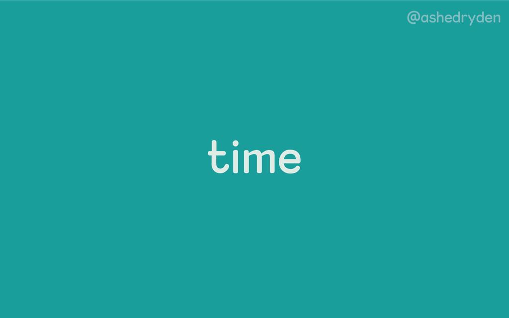 @ashedryden time