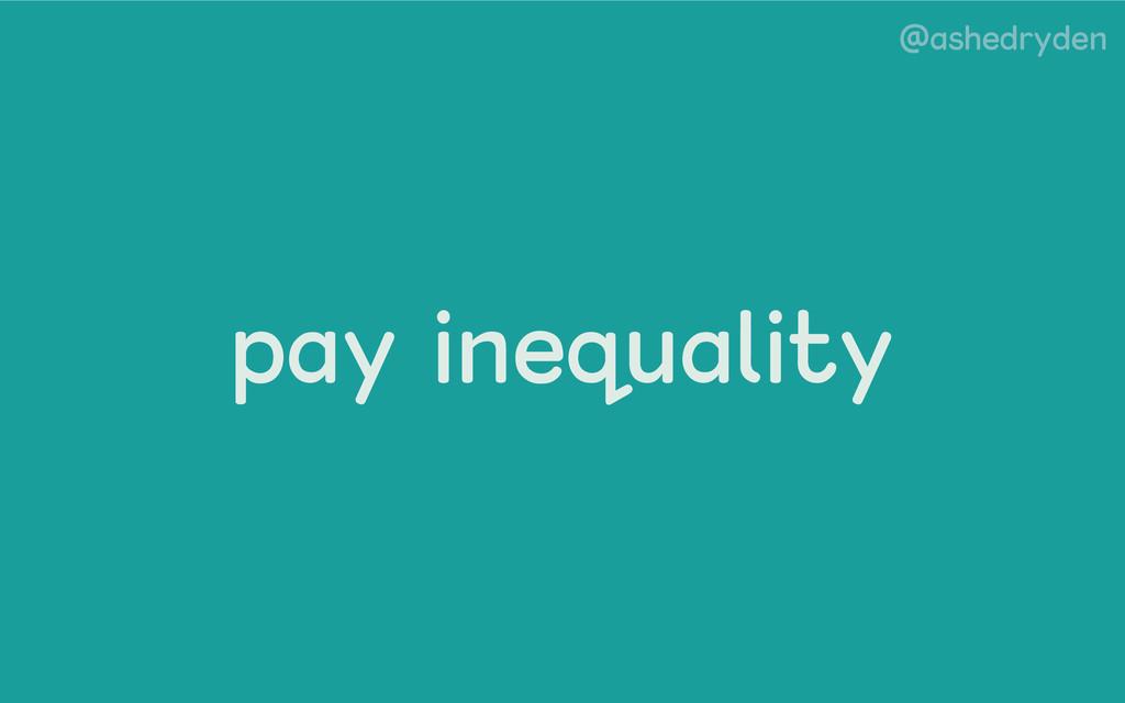 @ashedryden pay inequality