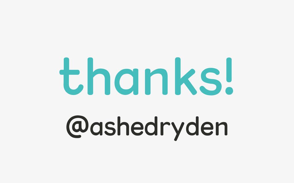 @ashedryden thanks! @ashedryden