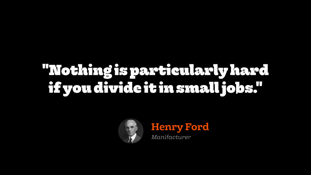 """Nothing is particularly hard