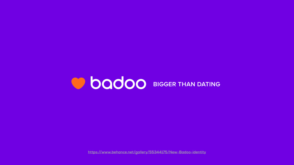 BIGGER THAN DATING https://www.behance.net/gall...
