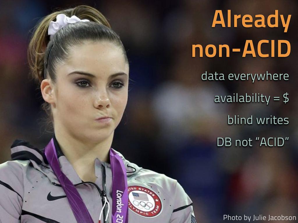 Already non-ACID Photo by Julie Jacobson data e...