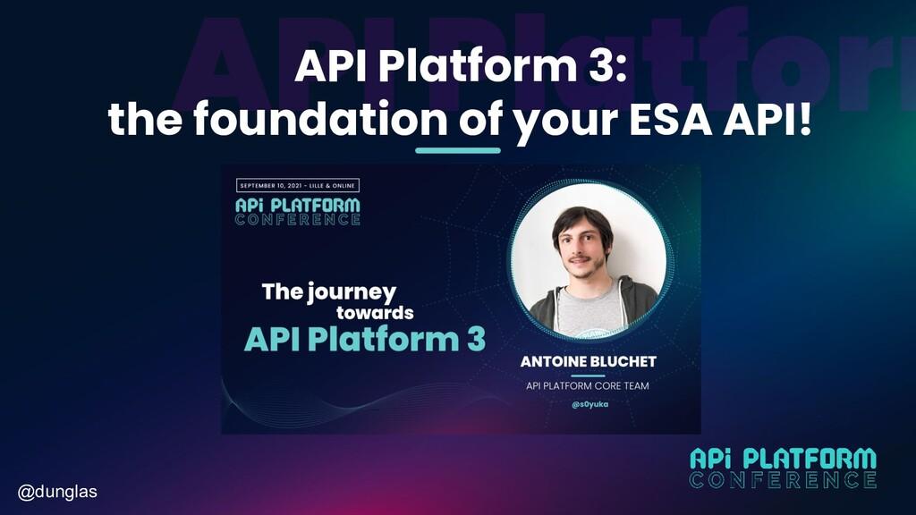 @dunglas API Platform 3: the foundation of your...