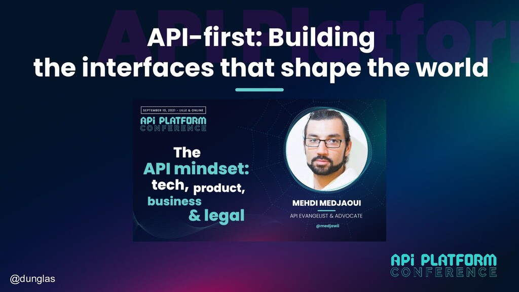 @dunglas API-first: Building the interfaces tha...