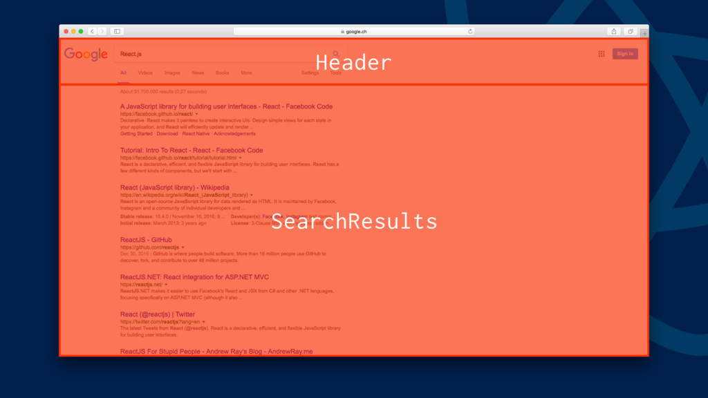 Header SearchResults