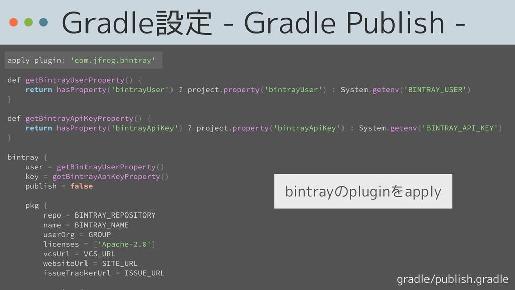 apply plugin: 'com.jfrog.bintray' def getBintra...