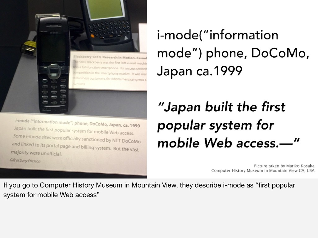If you go to Computer History Museum in Mountai...