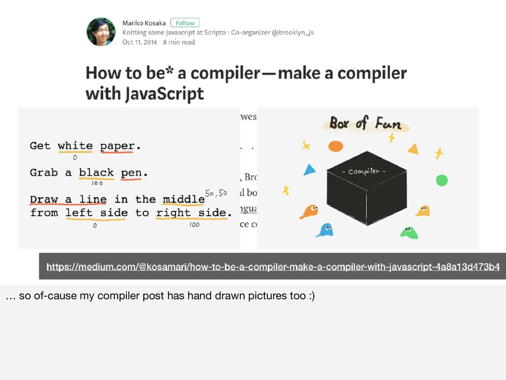 … so of-cause my compiler post has hand drawn p...