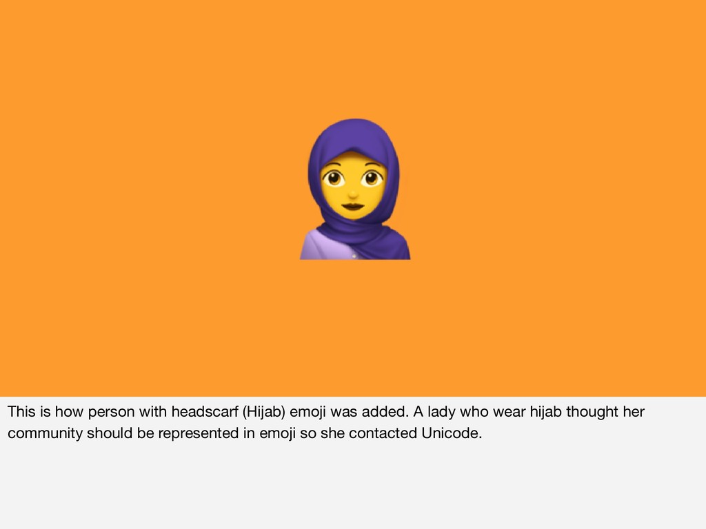This is how person with headscarf (Hijab) emoji...
