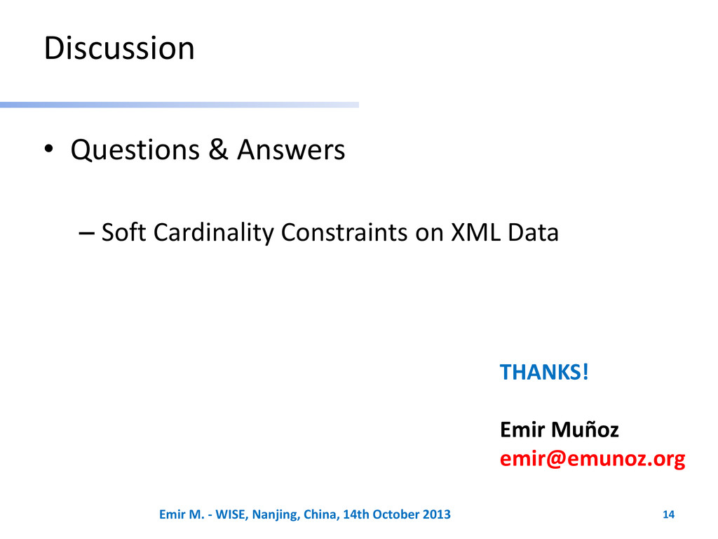 Discussion • Questions & Answers – Soft Cardina...
