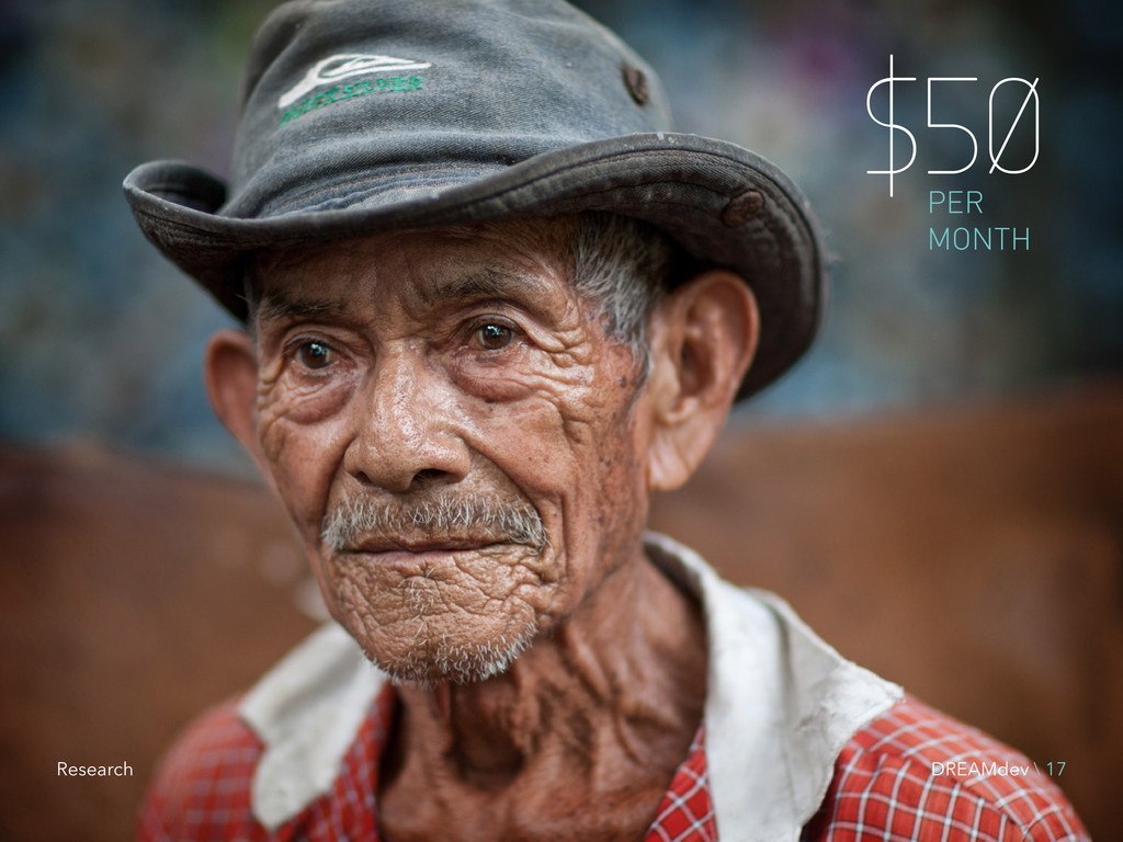 $50 PER MONTH DREAMdev \ 17 Research