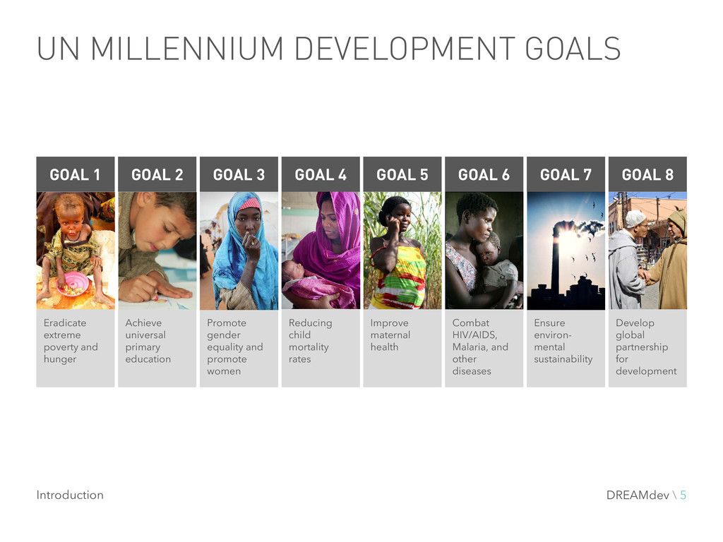 UN MILLENNIUM DEVELOPMENT GOALS Eradicate extre...