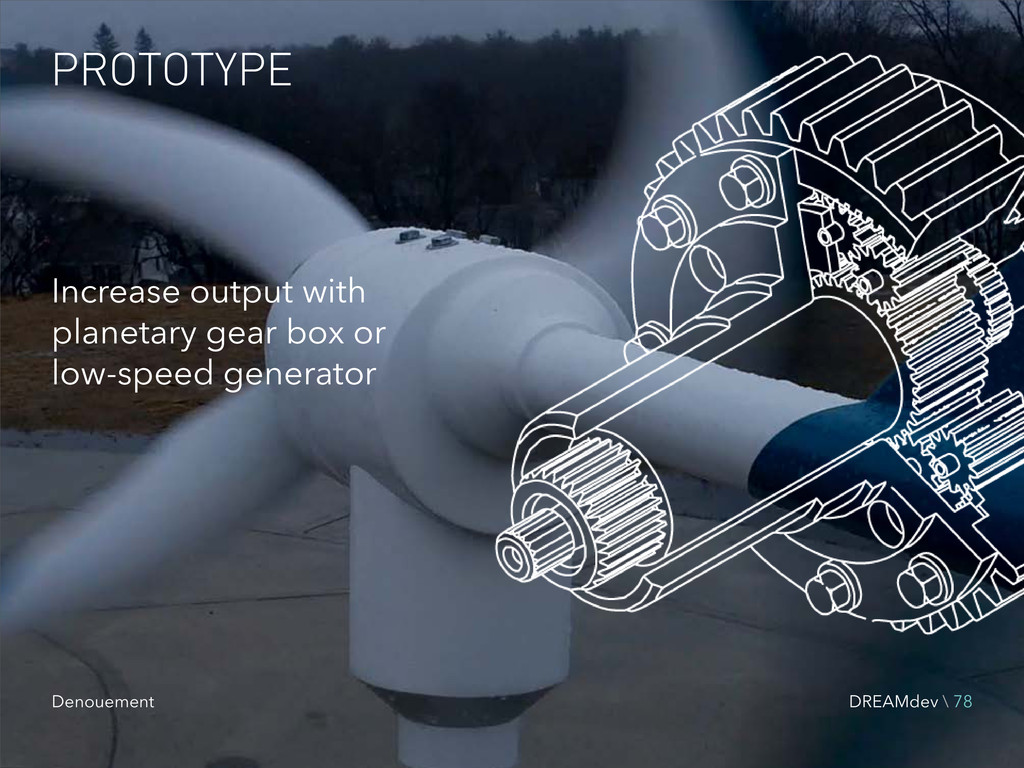 PROTOTYPE Increase output with planetary gear b...