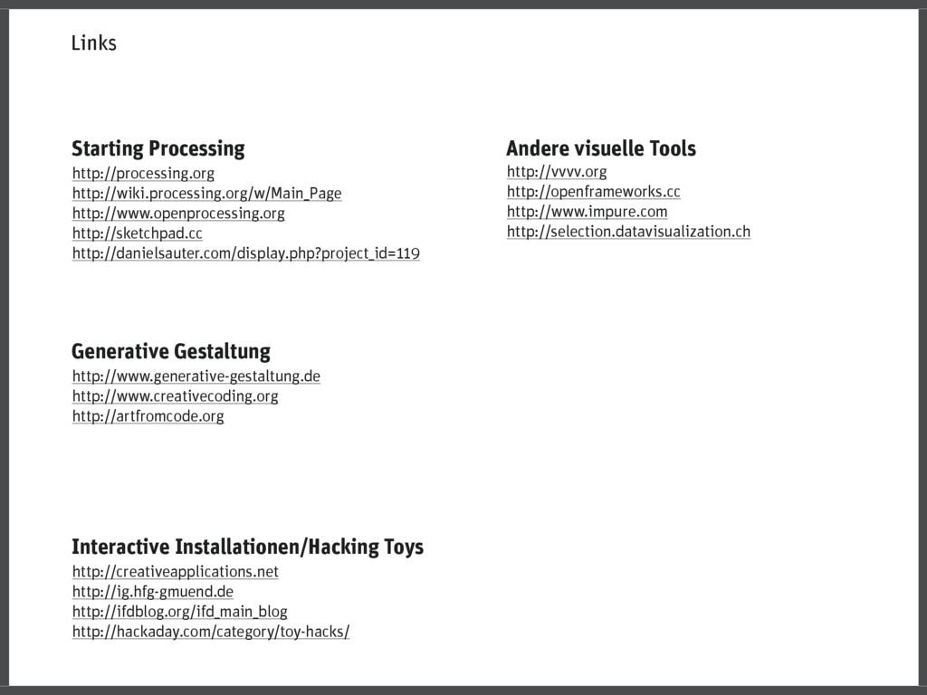 Interactive Installationen/Hacking Toys http://...