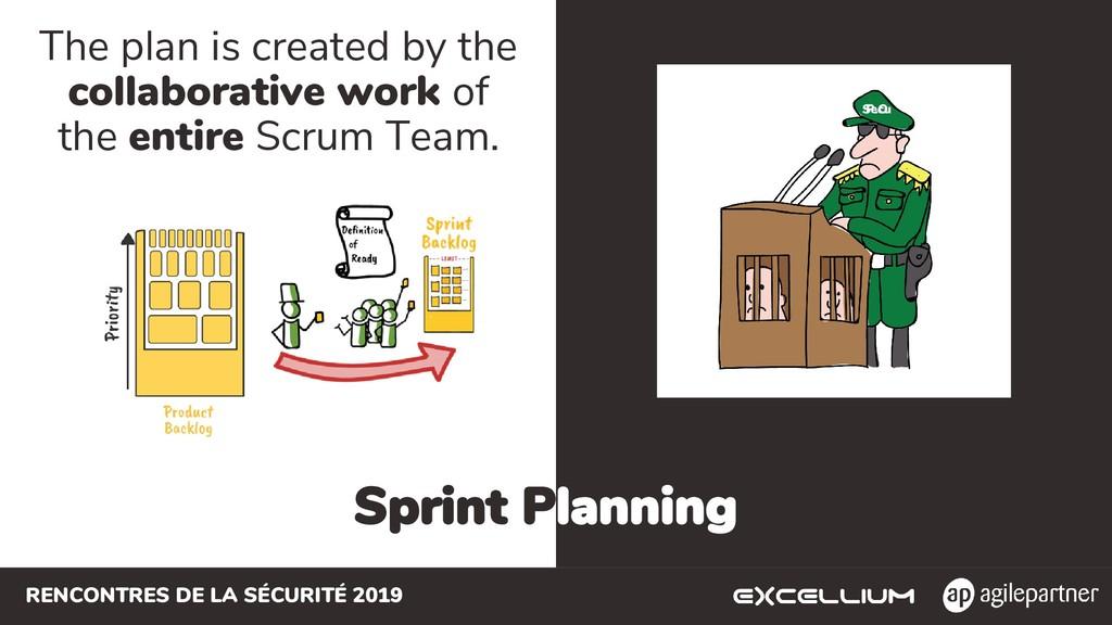 RENCONTRES DE LA SÉCURITÉ 2019 Sprint Planning ...