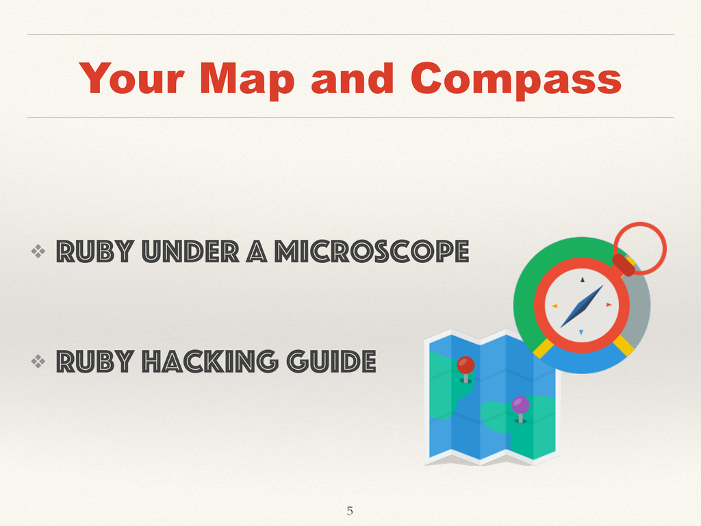Your Map and Compass ❖ Ruby Under a Microscope ...