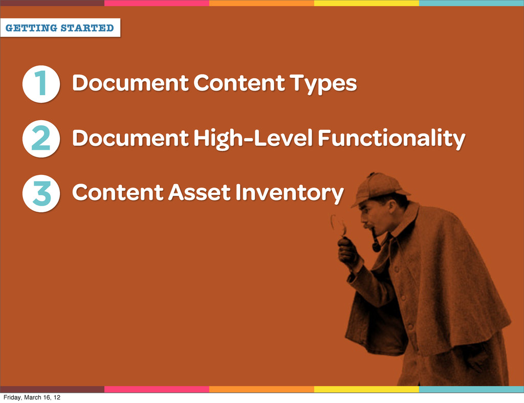 GETTING STARTED 1 Document Content Types 2 Docu...