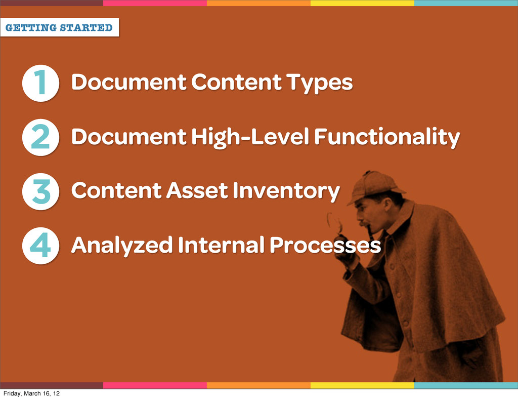 GETTING STARTED 4 Analyzed Internal Processes 1...