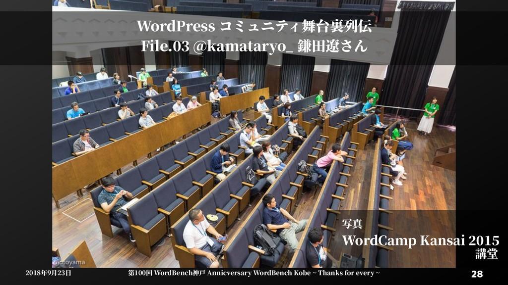 28 28 2018年9月23日 2018年9月23日 第100回 WordBenWordBe...