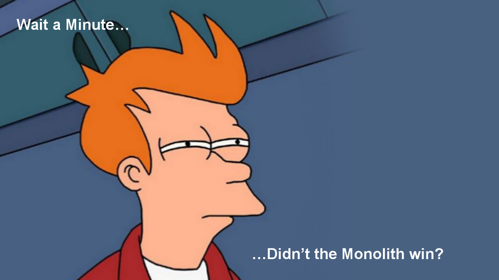 …Didn't the Monolith win? Wait a Minute…