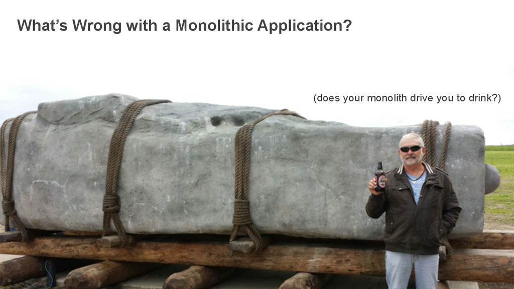 What's Wrong with a Monolithic Application? (do...