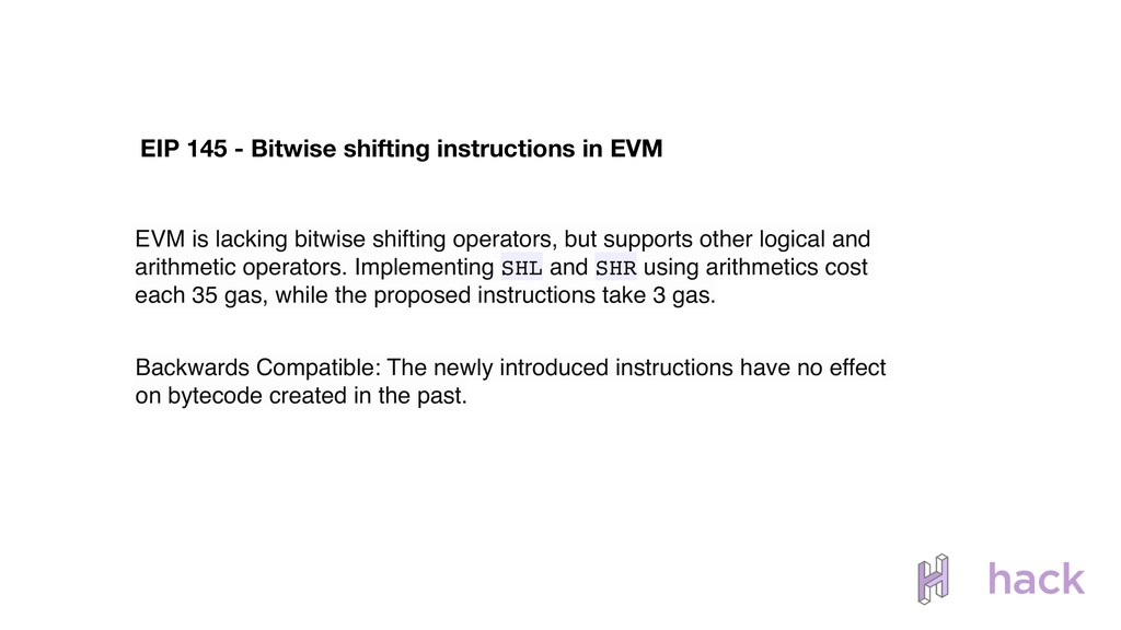 EIP 145 - Bitwise shifting instructions in EVM ...