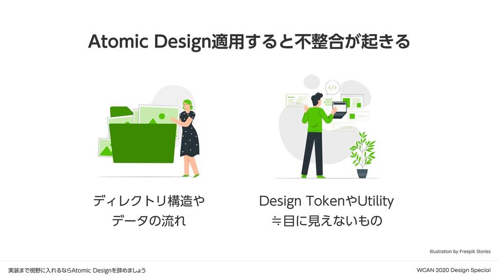 実装まで視野に入れるならAtomic Designを辞めましょう WCAN 2020 Desi...