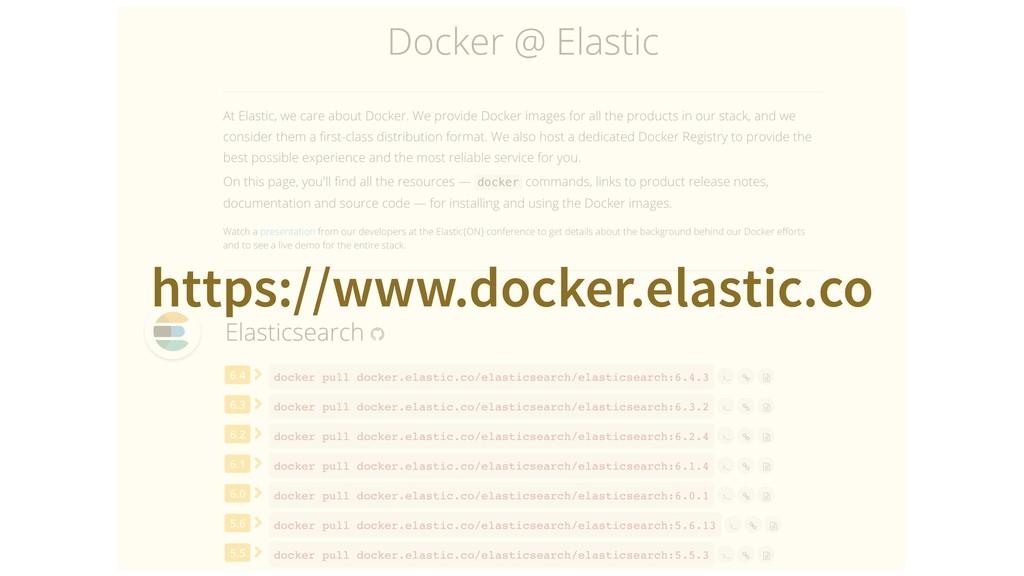 https://www.docker.elastic.co