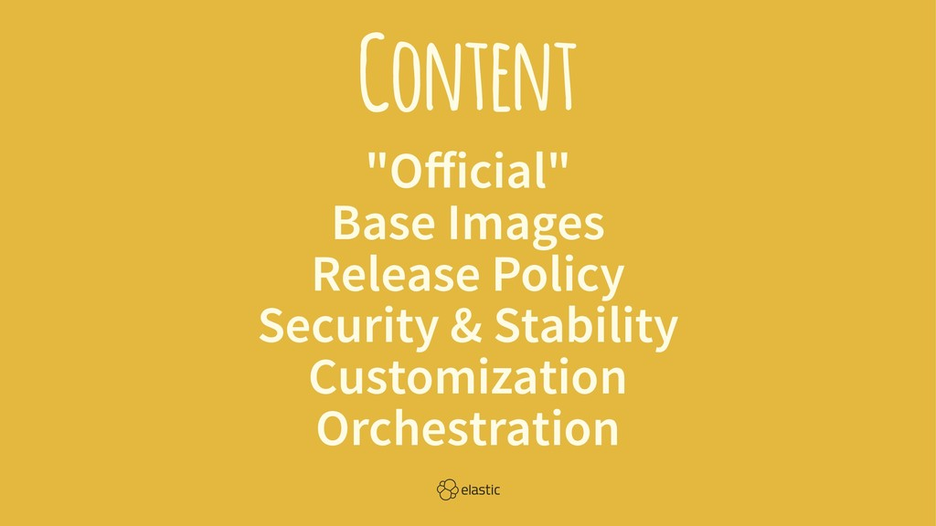 """Content """"Official"""" Base Images Release Policy Se..."""