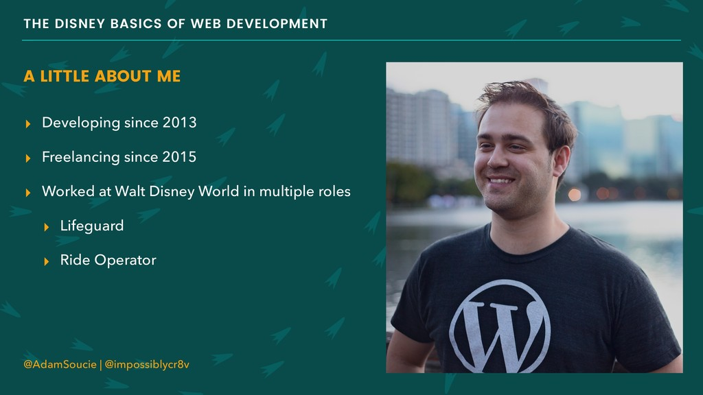 THE DISNEY BASICS OF WEB DEVELOPMENT A LITTLE A...