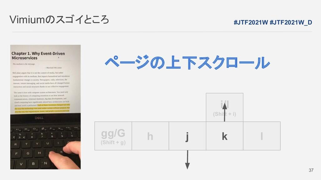 i/I (Shift + i) Vimiumのスゴイところ h j k l gg/G (Shi...