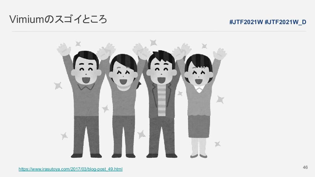 Vimiumのスゴイところ https://www.irasutoya.com/2017/03...