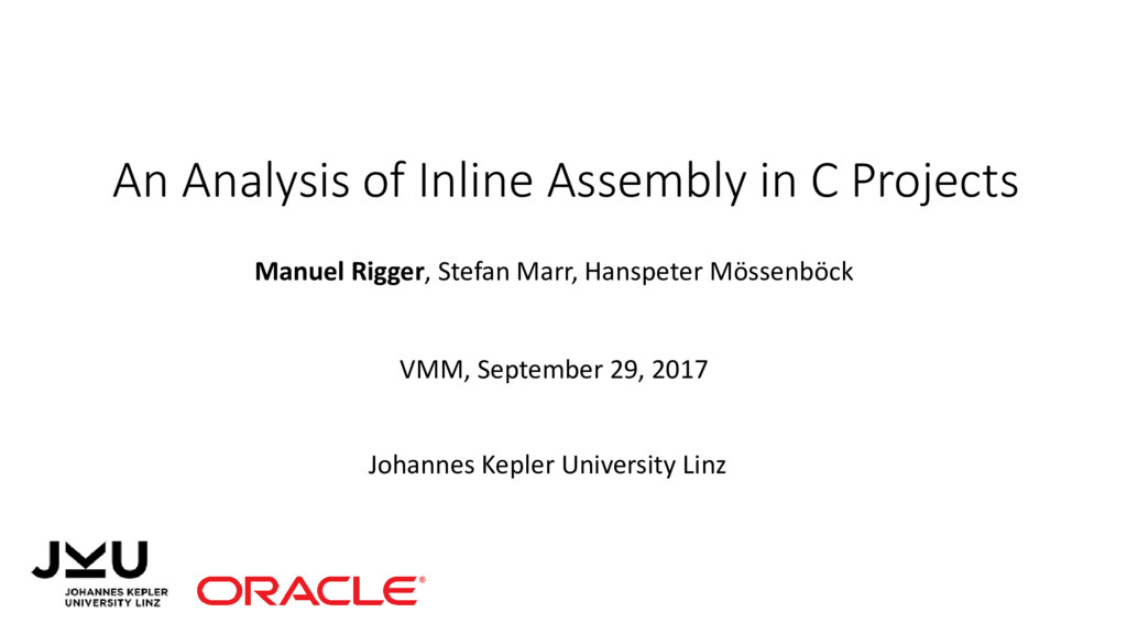 An Analysis of Inline Assembly in C Projects Ma...