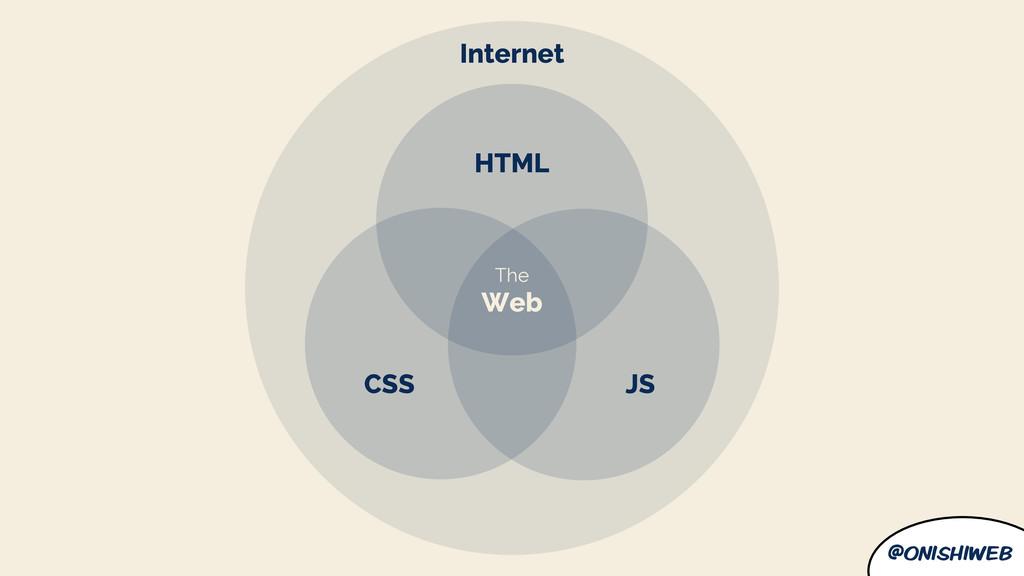 @onishiweb The Web JS CSS HTML Internet