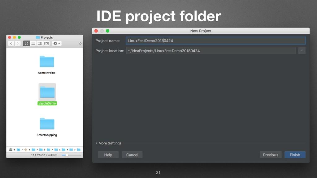 IDE project folder 21